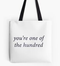 Monty - you're one of the hundred Tote Bag