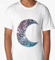 Beautiful Moon Long T-Shirt