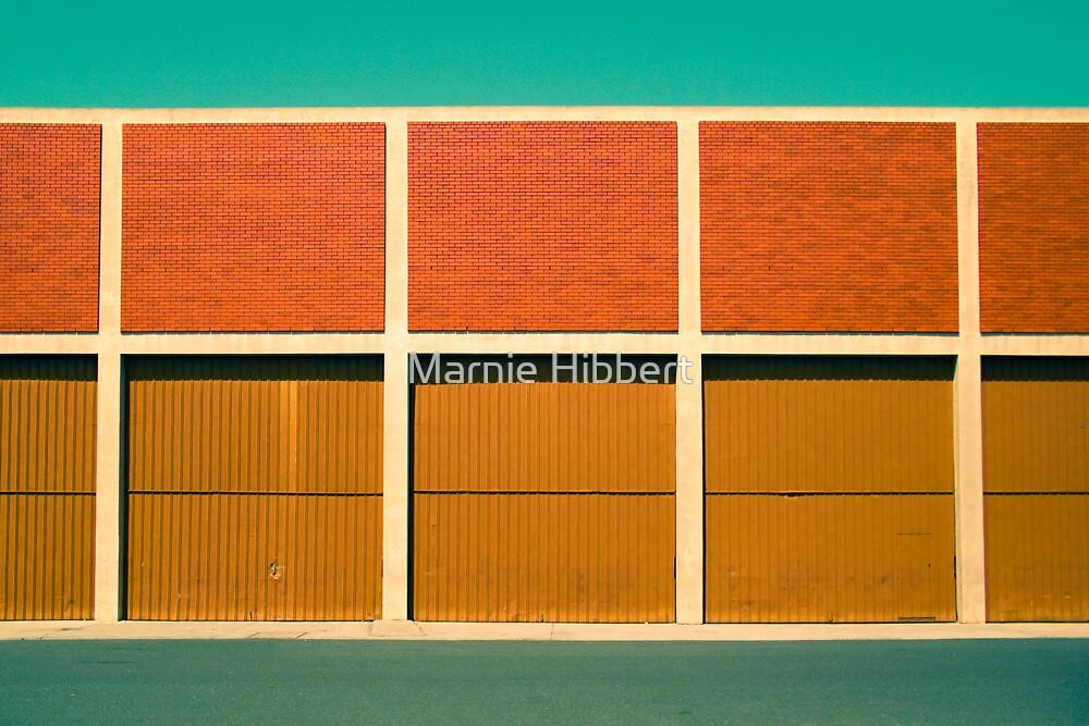 Behind which door? by Marnie Hibbert