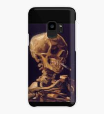 Vincent Van Gogh's 'Skull with a Burning Cigarette'  Case/Skin for Samsung Galaxy