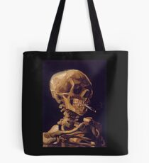 Vincent Van Gogh's 'Skull with a Burning Cigarette'  Tote Bag