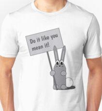 Do It Bunny by WIPjenni Unisex T-Shirt