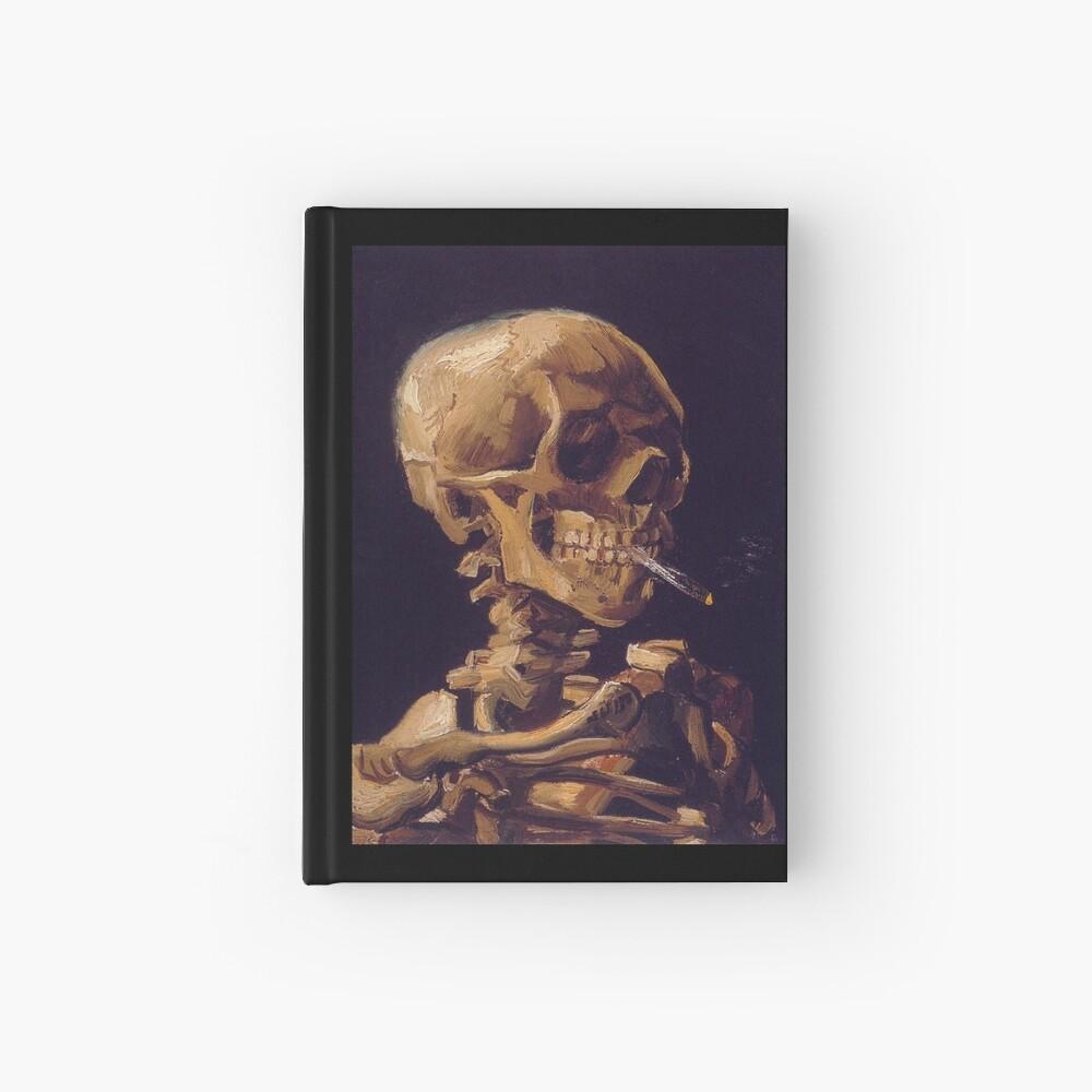 Vincent Van Gogh's 'Skull with a Burning Cigarette'  Hardcover Journal