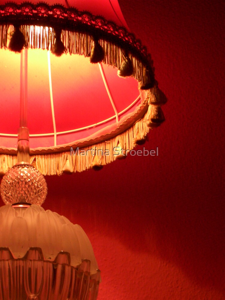 lamp by Martina Stroebel