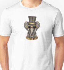 Steampunk Baby Elephant Unisex T-Shirt