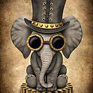Steampunk-Baby-Elefant von jeff bartels