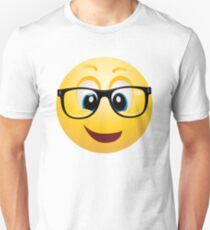geek emoticon smiley Unisex T-Shirt
