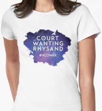 ACOWAR - A Court of Wanting a Rhysand Women's Fitted T-Shirt