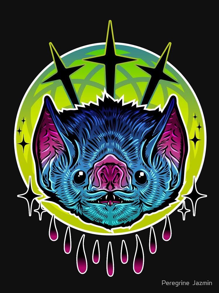 Neon Bat by retkikosmos