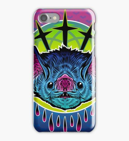 Neon Bat iPhone Case/Skin