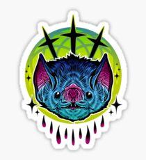 Neon Bat Sticker