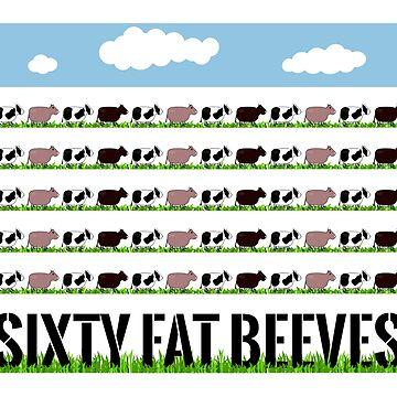 60 Fat Beeves by WIPjenni by WIPjenni