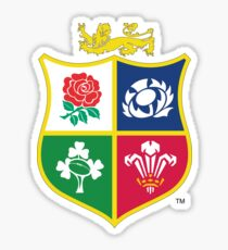 British and Irish Lions Logo Sticker