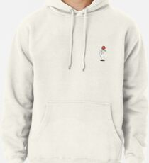 hand holding cigarette and rose Pullover Hoodie