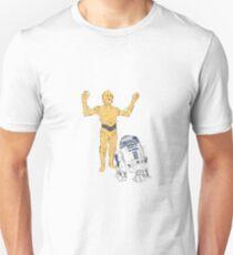STAR WARS - C-3PO & R2-D2 Unisex T-Shirt