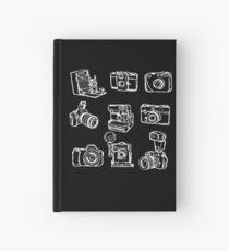 Photographer Camera Hardcover Journal
