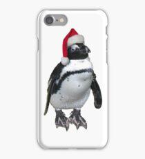 Christmas penguin iPhone Case/Skin