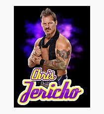 Y2J Chris Jericho  Photographic Print