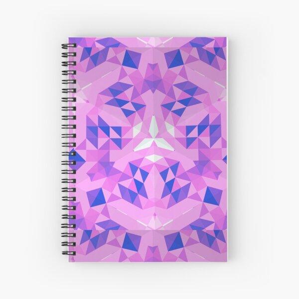 Purple Diamonds Spiral Notebook