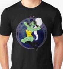 Sexy Sci-Fi Pin Up Girl Unisex T-Shirt