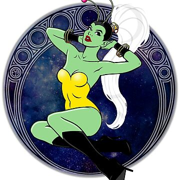 Sexy Sci-Fi Pin Up Girl by DeadMonkeyShop