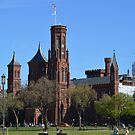 Smithsonian Castle by Karen Checca