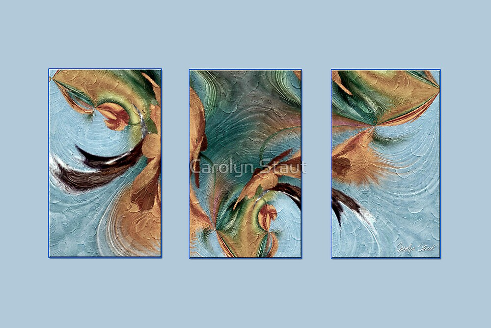 Blue Wind Blowing by Carolyn Staut