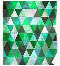 # 801 Grünes Grunge Poster