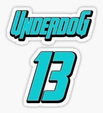 UNDERDOG TEES Sticker
