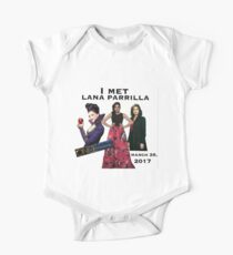 """""""I Met"""" Lana Parrilla Vancouver BC, Canada Convention - Once Upon A Time Convention One Piece - Short Sleeve"""