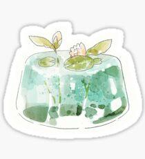 sea jelly. Sticker