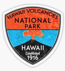 HAWAII VOLCANOES NATIONAL PARK VOLCANO HIKING NATURE EXPLORE Sticker