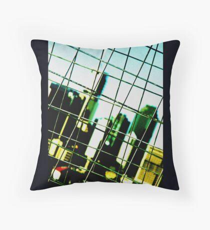 caged urbania Throw Pillow