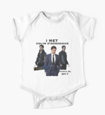 """""""I Met"""" Colin O'donoghue Vancouver BC, Canada Convention - Once Upon A Time Convention One Piece - Short Sleeve"""