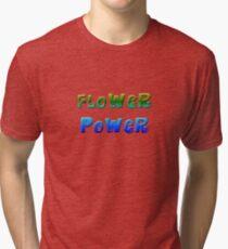 Flower Power 1 Tri-blend T-Shirt