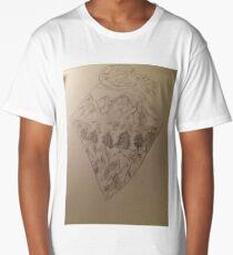 Rocky mountains  Long T-Shirt