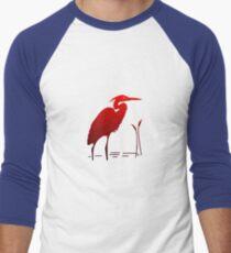 Red Crane Men's Baseball ¾ T-Shirt