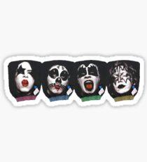 KISS x KISS Sticker