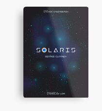 Solaris, George Clooney, Steven Soderbergh, Stanisław Lem, Natascha McElhone Lienzo metálico