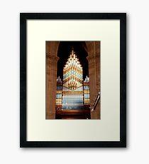Organ Framed Print