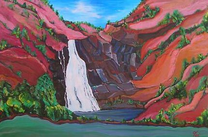 bloomfield waterfall by TeaErcoles