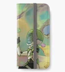 Nebel iPhone Flip-Case/Hülle/Klebefolie