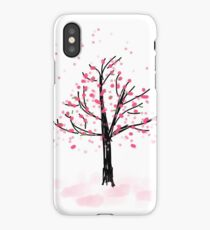 Japanese Cherry Blossoms in The Spring Time iPhone Case/Skin