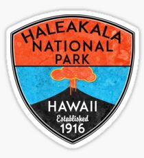 HALEAKALA NATIONAL PARK HAWAII VOLCANO HIKING NATURE EXPLORE Sticker