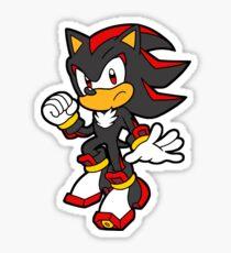 Shadow The Hedgehog Sticker Sticker