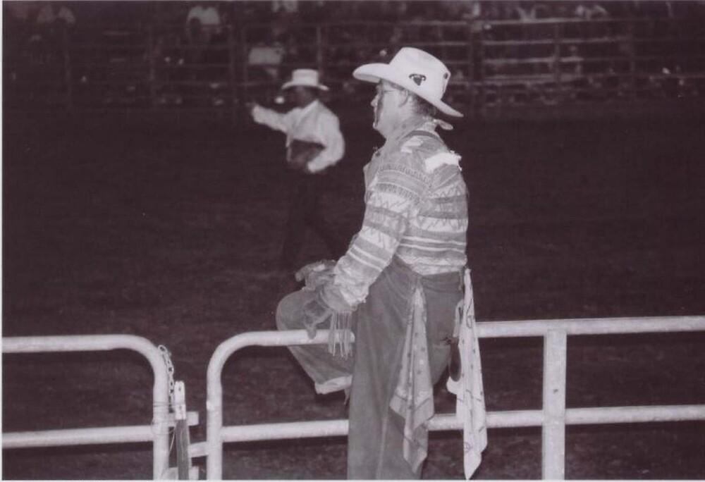 Rodeo Clown by Julia Mayer