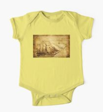 Antiques sailing map One Piece - Short Sleeve