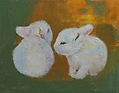 Baby Rabbits by Michael Creese