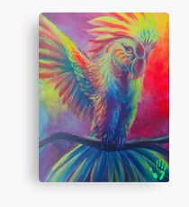 Macaw Acrylic Canvas Painting Canvas Print