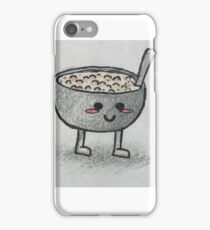 Cereal Bowl Baby iPhone Case/Skin